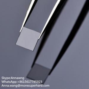 Single crystal CVD diamond plates,MCD synthetic diamond plate,SCD diamond plates factory price Manufactures