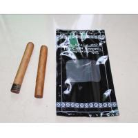Moisture Proof Gravure Printing Plastic Cigar Packaging Bag , 6mm Diameter Manufactures