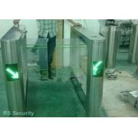 Dual Swing Barrier Gate Turnstile High-end Establishments IR Sensor Pedestrian Manufactures