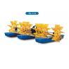 Waterwheel Aerator / paddle Wheel Aeration Equipmet / Shrimp Pond Aerator Manufactures