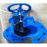 C509 C515 FL MJ FLxMJ Resilient Gate Valve , awwa gate valve NRS or OS&Y for sale