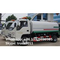 2017s best price new foton 5,000L water tank truck for sale, factory sale foton brand mini 5,000L water cistern truck Manufactures