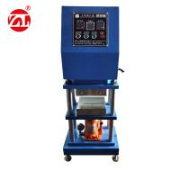 Lab Manual Type Small Rubber Platen Vulcanizing Press Equipment Manufactures