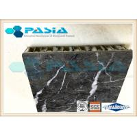 Lightweight Stone Aluminum Honeycomb Panel With Marble Stone Veneer Anti - Pollution Manufactures