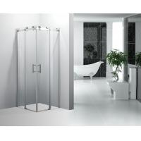 Modern Square Corner Bath Shower Enclosure Sliding Door For Both Sides Manufactures