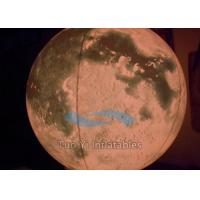 PVC Planet Helium Large Inflatable Globe Of The World Scratch Proof Manufactures