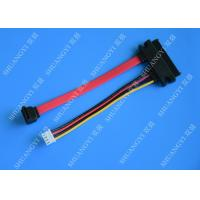 Female 22-pin to Male 7-pin SATA Data & Molex HSG Data Extension Cable Manufactures