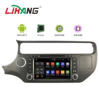 PX3 4core Android Car DVD Player Navigation DVD Player For KIA RIO With Mirror Link Manufactures