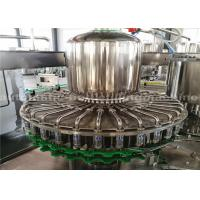 China PET Bottle Washing Filling Capping Machine For Complete Juice Production Line on sale