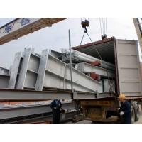Galvanized C purlins Garage Steel Frame Three floors For Supper Market Manufactures