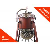 BOCIN Liquid / Steam Purification Industrial Cartridge Filters Of Carbon Steel Housing Manufactures