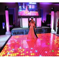 Interactive Led Dance Floor Hire , P6.25 Led Video Dance Floor Support 3d Manufactures