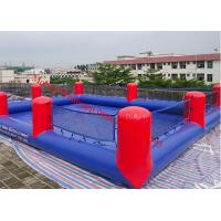 Quality inflatable football pitch inflatable football field inflatable soap football for sale