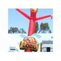 Customized Inflatable Sky Dancers / Logo Dude Dancer For Business Promotions Manufactures