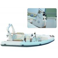 Large Rigid Hulled Inflatable RIB Boats Tenders Inflatable Power Boats 7.0 Meter Manufactures