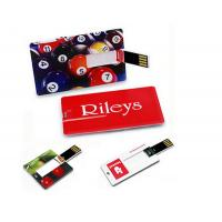 Bulk 4 gb usb flash memory drive credit card size with custom logo print, card usb flash drives Manufactures