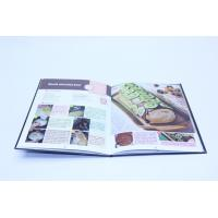 Quality Flexibound Cook Book Printing Perfect Binding With Glossy Lamination for sale