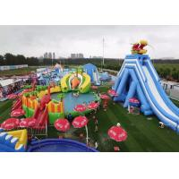 Commercial Inflatable Water Slide Bounce House Pool Bouncer Park With Repair Kits Manufactures