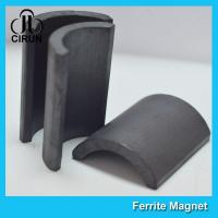 Y30BH C5 C8 Grade Ferrite Arc Magnet For BLDC Ceiling Fan Motor Eco Friendly Manufactures