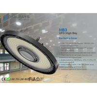 UFO LED High Bay Light 100W 160LM/W Die -Casting Aluminum Built-in Driver