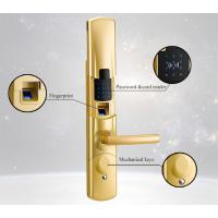 [TanLien] Fingerprint password keypad door lock and handle for Apartment and Office Manufactures