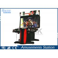 Hardware Material 4 Gun Shooting Arcade Machines Exciting L1500 * W2050 * H2250 Manufactures