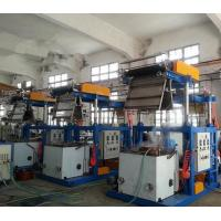 0.025 - 0.07mm Thickness Blown Film Extrusion Machine With Pillar Under Electric Lift Manufactures