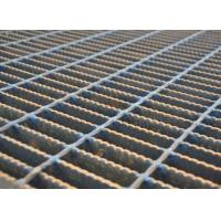 China Mesh Drain Cover Serrated Steel Grating Silver Color Heavy Duty Load on sale