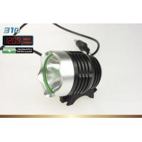 1200lm 10W LED cree xml t6 bicycle headlight 4.2V DC 4400mah Battery Pack Manufactures