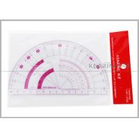 15cm Flexible Protractor  Fashion Design Ruler with Sandwich Line Printing  P101 Manufactures