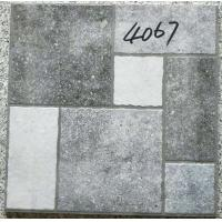 Buy cheap Grey Bathroom 400x400 Floor Tiles Rustic 3d Inkjet Printing Interior Exterior from wholesalers
