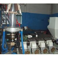 Durable PVC Film Blowing Machine With Plastic Film Manufacturing Process SJ55×28-Sm1000 Manufactures