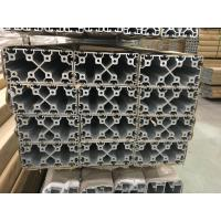 2020 4040 8080 4060 T Slot Aluminium Industrial Profile With Silver And Black Anodized Manufactures