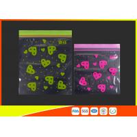 Waterproof Ldpe Resealable Small Ziplock Bags Colored Lip Printed Customized Manufactures