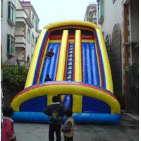 Customed Waterproof Inflatable Sports Games , PVC Bouncer Slide For Park Manufactures