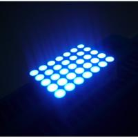bright blue 5x7 Dot Matrix Led Display Wide Viewing Angle for Indoor And Outdoor Advertising Screen Manufactures