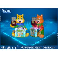 Candy Bear hammer game machine 2 Player / Hammer Hitting Game CE Certificated Manufactures