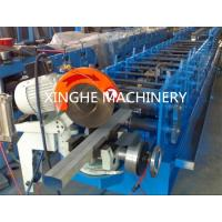 Downspout Pipe Roll Forming Machine PLC Control And Hydraulic Station Manufactures