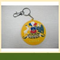 High quality garment pvc rubber keychain also silicone Keychain Manufactures