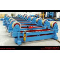 Automatic Pipe Welding Rotator Vessel Welding Turning Bed With Rubber Roller Manufactures