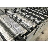 Aluminum Metal Roofing Tile Making Machine , Steel Tile Forming Machine Manufactures