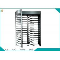 Full Height Automatic Turnstiles 120 Degree Single Channel High Security Barrier Manufactures