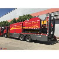 RPM 1900R/Min Water Pump Fire Truck HOWO Chassis Euro 4 Emission Standard Manufactures