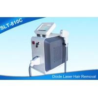 Portable Permanent Laser Hair Removal Machine / Diode Laser 808nm Hair Removal Manufactures