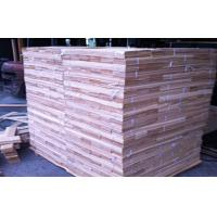 Sliced Cut Red Oak Veneer Sheets Floor Face ,  Fine Straight Manufactures