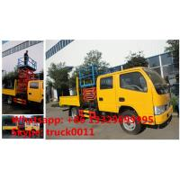 CLW brand LHD high-altitude platform operation trucks, dongfeng 6m-12m scissor -type aerial platform truck for sale Manufactures