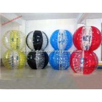 Custom Gaint Body Inflatable Bubble Football / Knocker Balls For Bump Fun Manufactures