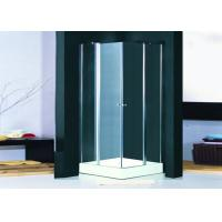 Quality Frameless Hinged Shower Enclosure Pivot Door Clear Glass Shower Cabins 800 x 800 for sale