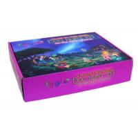 Full Color Printed Corrugated Gift Boxes , Specialty E Flute Corrugated Box Manufactures