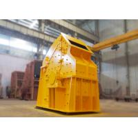 Non - Key Connected Cobble Fine Crusher 132 Kw Adjustable End Products Sizes Manufactures